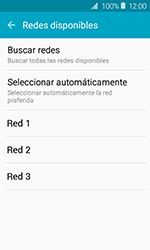 Samsung Galaxy J1 (2016) (J120) - Red - Seleccionar una red - Paso 8
