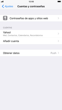 Apple iPhone 7 Plus iOS 11 - E-mail - Configurar Yahoo! - Paso 9