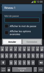 Samsung S7275 Galaxy Ace 3 - Wifi - configuration manuelle - Étape 6