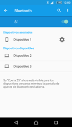 Sony Xperia Z5 - Bluetooth - Conectar dispositivos a través de Bluetooth - Paso 8
