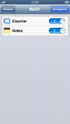 Apple iPhone 5 - E-mail - Configuration manuelle - Étape 13