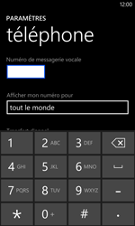 Nokia Lumia 1020 - Messagerie vocale - Configuration manuelle - Étape 7