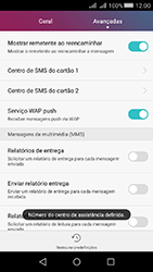Huawei Y5 II - SMS - Como configurar o centro de mensagens -  8