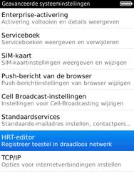 BlackBerry 9800 Torch - Instellingen - configuratiebericht ontvangen - Stap 6