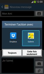 Samsung Galaxy Ace 3 - Contact, Appels, SMS/MMS - Envoyer un MMS - Étape 16