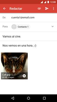 Motorola Moto X Play - E-mail - Escribir y enviar un correo electrónico - Paso 15
