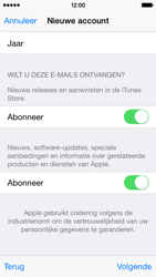 Apple iPhone 5 (iOS 8) - apps - account instellen - stap 18