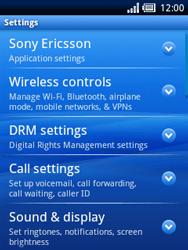 Sony Ericsson Xperia X10 Mini - Mms - Manual configuration - Step 4