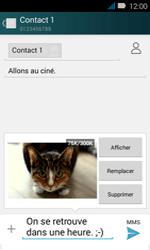 Huawei Y3 - MMS - envoi d'images - Étape 16