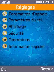 Archos F28 - Sécuriser votre mobile - Personnaliser le code PIN de votre carte SIM - Étape 4