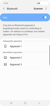 Samsung Galaxy S10 Plus - Bluetooth - headset, carkit verbinding - Stap 9