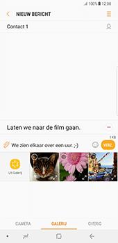 Samsung Galaxy Note 8 - MMS - hoe te versturen - Stap 12