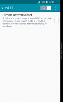 Samsung N915FY Galaxy Note Edge - WiFi en Bluetooth - Handmatig instellen - Stap 5