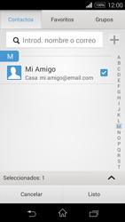 Sony D2203 Xperia E3 - E-mail - Escribir y enviar un correo electrónico - Paso 7