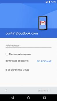 Huawei Google Nexus 6P - Email - Adicionar conta de email -  11