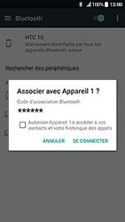 HTC 10 - Android Nougat - Bluetooth - Jumeler avec un appareil - Étape 7