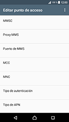 Sony Xperia XA1 - Mensajería - Configurar el equipo para mensajes multimedia - Paso 12