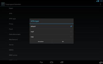 Acer Iconia Tab A3 - Internet - Handmatig instellen - Stap 11