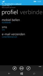 Nokia Lumia 735 4G (Type RM-1038) - Contacten en data - Contacten overzetten via Bluetooth - Stap 11