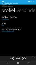 Nokia Lumia 735 - Contactgegevens overzetten - delen via Bluetooth - Stap 11