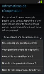 Samsung Galaxy S3 Mini - Premiers pas - Créer un compte - Étape 19