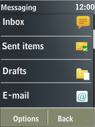 Nokia X3-02 - E-mail - Sending emails - Step 4