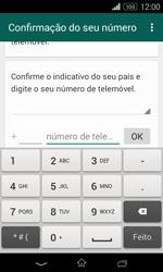 Sony Xperia E1 - Aplicações - Como configurar o WhatsApp -  6