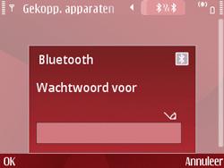 Nokia E63 - Bluetooth - Headset, carkit verbinding - Stap 9