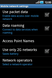 Samsung S5660 Galaxy Gio - Internet - Enable or disable - Step 6