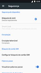 Nokia 3 - Segurança - Como ativar o código PIN do cartão de telemóvel -  5