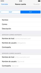 Apple iPhone 6 Plus iOS 8 - E-mail - Configurar correo electrónico - Paso 11