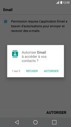 LG X Screen - E-mail - Configuration manuelle - Étape 19