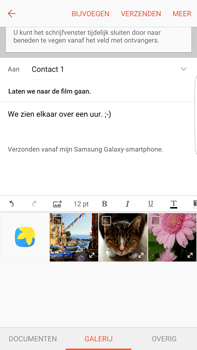 Samsung Samsung G928 Galaxy S6 Edge + (Android M) - E-mail - E-mails verzenden - Stap 12