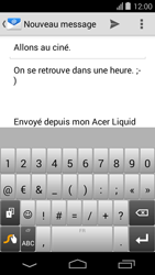 Acer Liquid E600 - E-mail - envoyer un e-mail - Étape 8