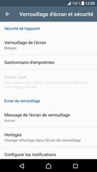 Sony Xperia XZ Premium - Sécuriser votre mobile - Activer le code de verrouillage - Étape 5