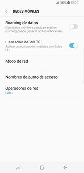Samsung Galaxy S8 - Red - Seleccionar una red - Paso 11