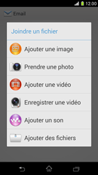 Sony D5503 Xperia Z1 Compact - E-mail - envoyer un e-mail - Étape 10