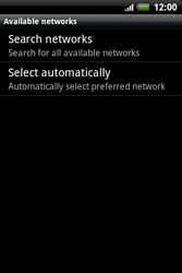 HTC A510e Wildfire S - Network - Usage across the border - Step 7