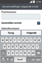 LG L40 (D160) - E-mail - Handmatig instellen - Stap 14