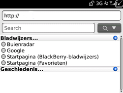 BlackBerry 9300 Curve 3G - Internet - Hoe te internetten - Stap 12