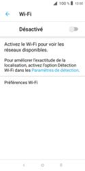 Alcatel 1X - Internet et connexion - Accéder au réseau Wi-Fi - Étape 6