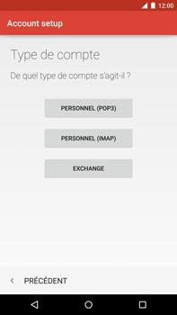 Motorola Nexus 6 - E-mail - Configuration manuelle - Étape 12