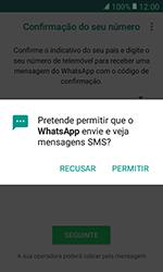 Samsung Galaxy Xcover 3 (G389) - Aplicações - Como configurar o WhatsApp -  11