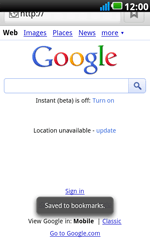 LG P990 Optimus 2X Speed - Internet - Internet browsing - Step 6