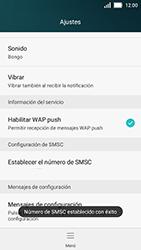 Huawei Y5 - Mensajería - Configurar el equipo para mensajes de texto - Paso 8