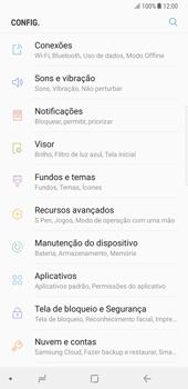 Samsung Galaxy Note 8 - Internet no telemóvel - Como configurar ligação à internet -  4
