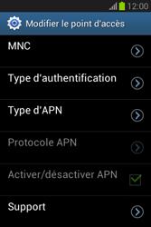 Samsung S6790 Galaxy Fame Lite - MMS - configuration manuelle - Étape 16