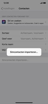 Apple iphone-xs-model-A1920 - Contacten en data - Contacten kopiëren van SIM naar toestel - Stap 5