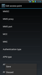 HTC Desire 516 - MMS - Manual configuration - Step 15