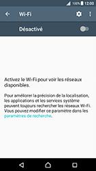 Sony Xperia X - Android Nougat - WiFi et Bluetooth - Configuration manuelle - Étape 5